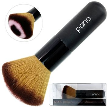 Pana Super Soft Professional Premium Quality Comestic Powder Blush Brush for Face Makeup Appliance For Lady Woman. Also Use For Bronzing, Cheek Color Application And Dusting Off Excess Powders.