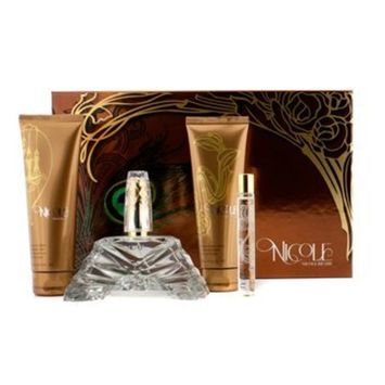 Nicole Richie Nicole Coffret:Eau De Parfum Spray 100Ml/3.4Oz + Body Lotion 100Ml/3.4Oz + Shower Gel 100Ml/3.4Oz + Eau De Parfum Roller Ball 10Ml/0.34Oz For Women 4Pcs by Nicole Richie