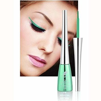 Hunputa Eyeliner Liquid, Colored eyeliner Smoky Eyes Eyeshadow Glitter Liquid Eyeliner