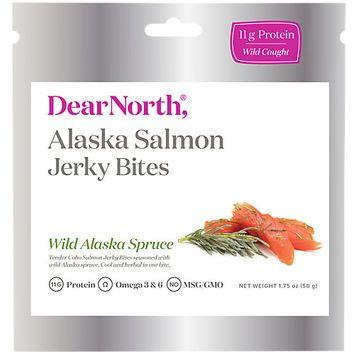 Dear North Alaska Salmon Bites, Wild Alaska Spruce, 0.14 Lb