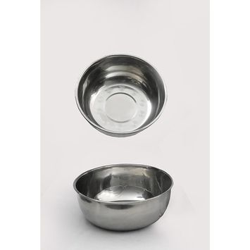 TWO Stainless Steel Utility Bowl Spa Equipment Facial Machine