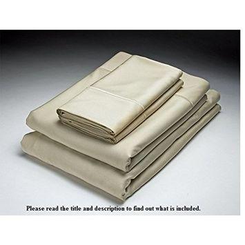 Home Source 52500KG HEMP KING 250 Thread Count Bamboo Pillowcase Pair