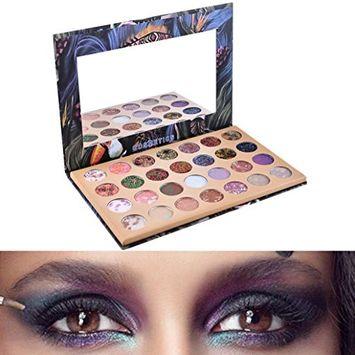 Creazy 28 Color Starry Sky Shimmer Glitter Eye Shadow Plate Powder Matt Eyeshadow