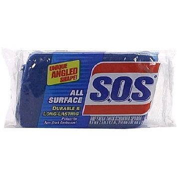 SOS Clorox All Surface Scrubber Sponge 91017