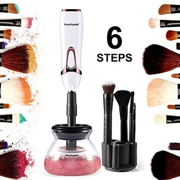 SMARTWOOD Makeup Brush Cleaner, [2018 Newest]Automatic Electric Makeup Brush Cleaner Clean&Dry Makeup Brushes in Seconds
