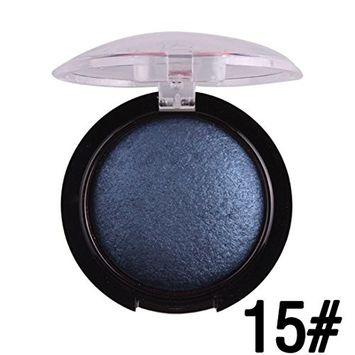 Kanzd 24 Colors Hot Sale Women Blush Palette Face Makeup Baked Cheek Color Blusher Professional