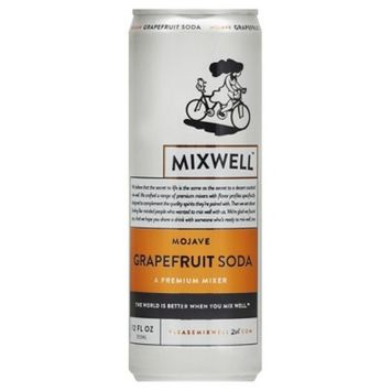 Mixwell Mojave Grapefruit Soda - 12 fl oz Can