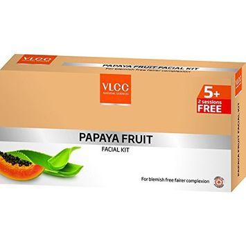 Vlcc Papaya Fruit Facial Kit Tube 5+2 by VLCC