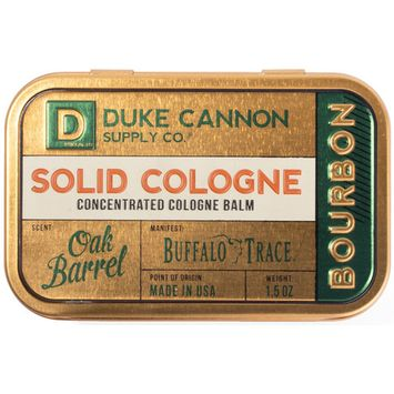 Online Only Solid Cologne - Bourbon