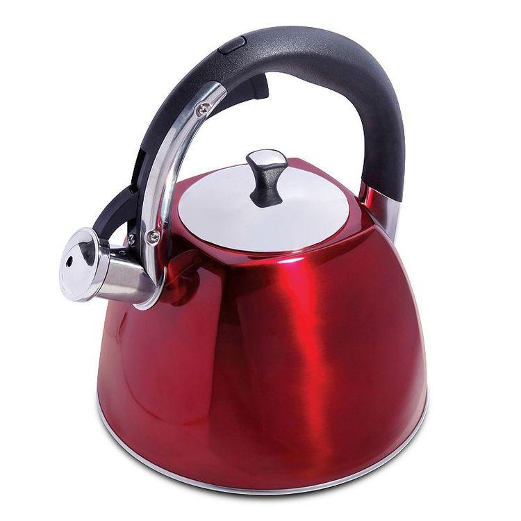 Mr. Coffee Belgrove 2.5-qt. Teakettle, Red