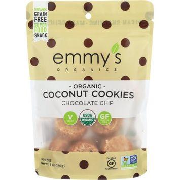 Emmy's Organics Macaroons Chocolate Chip 6 oz - Vegan