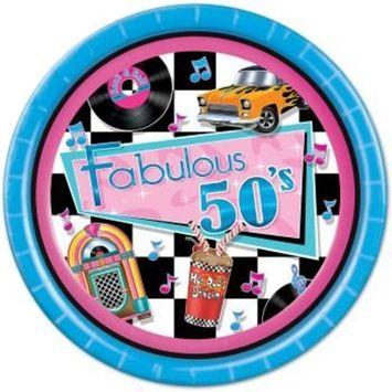 Beistle BB58035 Fabulous 50s Luncheon 9