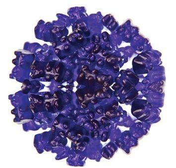 5 Pound Grape Gummy Bear Purple Grape Flavored Gummy Bears 5 Pound Bulk Bag