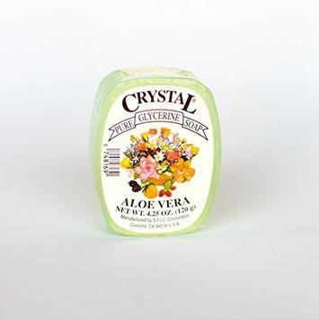 Crystal Glycerine Soap Bars Aloe Vera (24 bars)