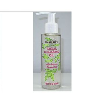 Trader Joe's Facial Cleansing Oil with Argan and Coconut Oils (PACK OF 2)