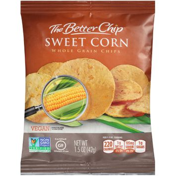 the better chip® sweet corn whole grain chips