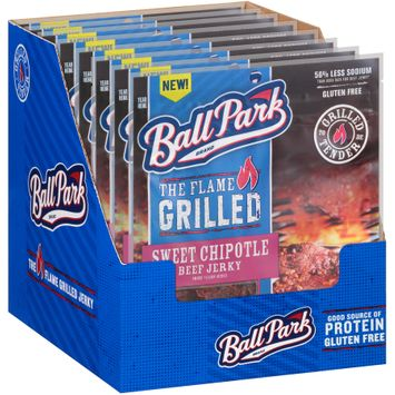 Ball Park® The Flame Grilled Sweet Chipotle Beef Jerky
