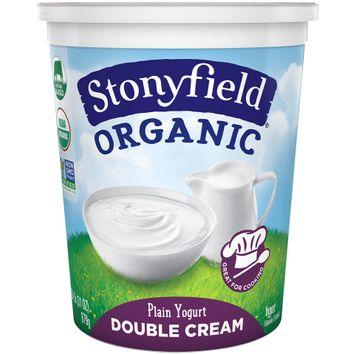 Stonyfield® Organic Double Cream Plain Yogurt