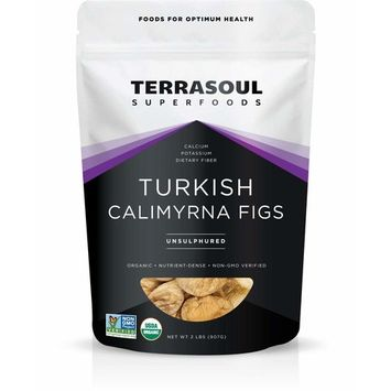 Terrasoul Superfoods Organic Turkish Figs (Calimyrna), 2 Pounds