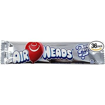 Airheads Taffy Candy Bars, White Mystery, 0.55 Oz /15.6 G (Pack of 72)