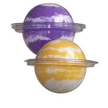 Bath Bomb Fizzy-2 Pack Set-Pure European Spa Salts-Coconut/Apricot Oils-Clay Detox-Skin Moisturizer-Anti-aging- 4-Ounces Each