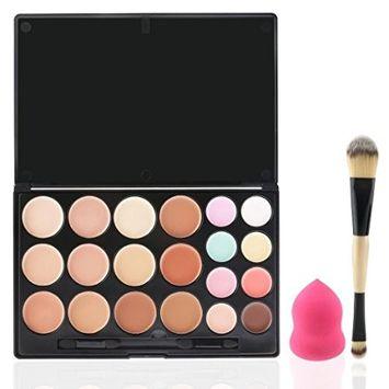 Fashion Base Contour Kit Contour and Highlighting Contour Palette - 20 Colors