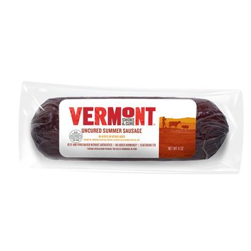 Vermont Smoke and Cure Uncured Summer Sausage -- 6 oz