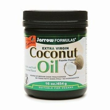 Jarrow Formulas Extra Virgin Coconut Oil 16 oz (454 g)