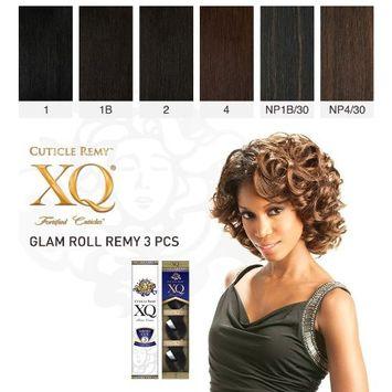 GLAM ROLL REMY 3PCS (#NP1B/30) - Shake N Go Cuticle XQ Short Cut 100% Human Hair Weave