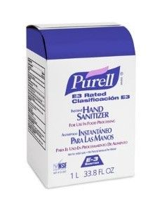 Purell Advanced Hand Sanitizer 1000 mL Ethanol Gel Bag-in-Box
