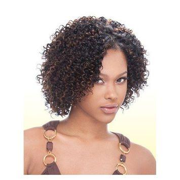 MilkyWay 100% Human Hair Short Cut Jerry Curl 3pcs - #2