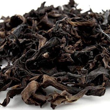 Dried Black Trumpet Mushrooms Wild Organic Black Chanterelle Mushrooms Europe