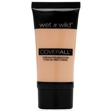 Wet N Wild Coverall Cream Foundation ~ Fair 815 (Pack of 3)