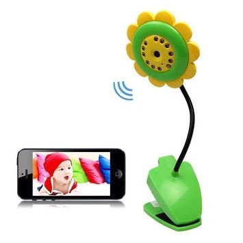 Wireless Wifi Camera with Night Vision for Security Baby Monitor IP Smartphone Audio