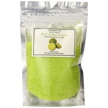 Jansal Valley All Natural Flavor Infused Cane Sugar, Key Lime, 6 Ounce [Key Lime]