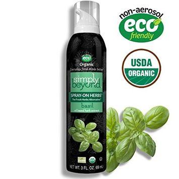 Simply Beyond, Organic Spray-On Herbs, Basil, 3 Fl. Oz [Basil]