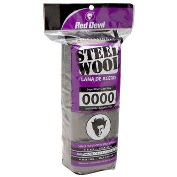Red Devil 0310 Steel Wool, 0000 Super Fine, (Pack of 16)