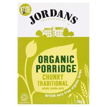 Jordans - Organic Porridge Chunky Traditional Jumbo Oats - 750g