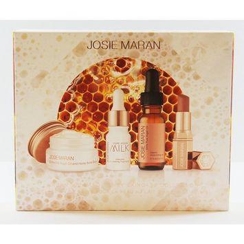 Josie Maran Argan Milk and Honey Skincare Collection 4 Piece Set