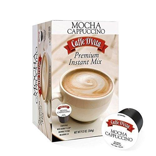 Caffe D'Vita Premium Mocha Cappuccino K-CUP - 12 Count