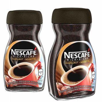 NESCAFÉ Rich Hazelnut, Instant Coffee, 100g Jar   2- Pack [Hazelnut]