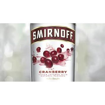 Smirnoff Cranberry, 1.75 L, 70 Proof (Vodka Infused with Natural Flavors)