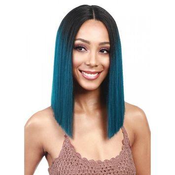 Bobbi Boss MLF136 Yara Lace Front Wig Color 1B