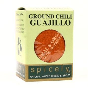 Spicely Organic Chili Guajillo Ground - Compact