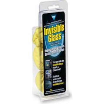 Invisible Glass Reach and Clean Tool Replacement Microfiber Bonnets - 3 Pack, 95183