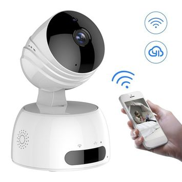 IP Camera, LESHP 720P HD Indoor Wireless Security Surveillance Camera Aerial Aluminum Alloy Chip For Baby Elder Pet Monitor, Pan Tilt, Two-Way Audio Night Vision ,Nanny Cam