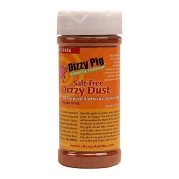 Dizzy Pig Salt Free Dizzy Dust All Purpose Seasoning and BBQ Rub - 8 oz
