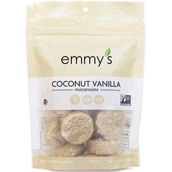 Emmy's Organics Macaroons Coconut Vanilla 6 oz - Vegan