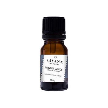 Winter Winds Signature Essential Oil Blend by Livana, 10ml, for Aromatherapy, Diffusors and DIY Beauty Products [Winter Winds]