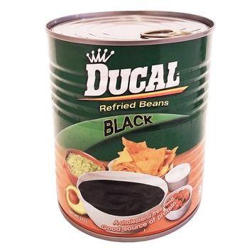 Ducal Refried Black Beans 29 oz (Pack of 6)